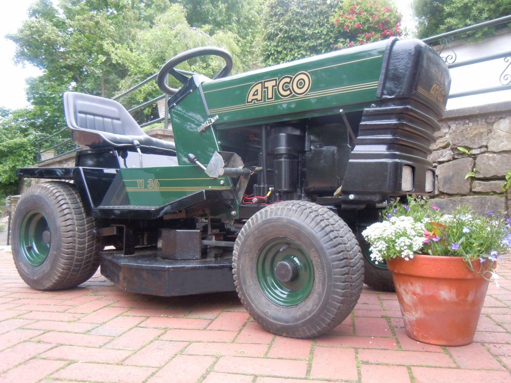 Atco lawn mower.