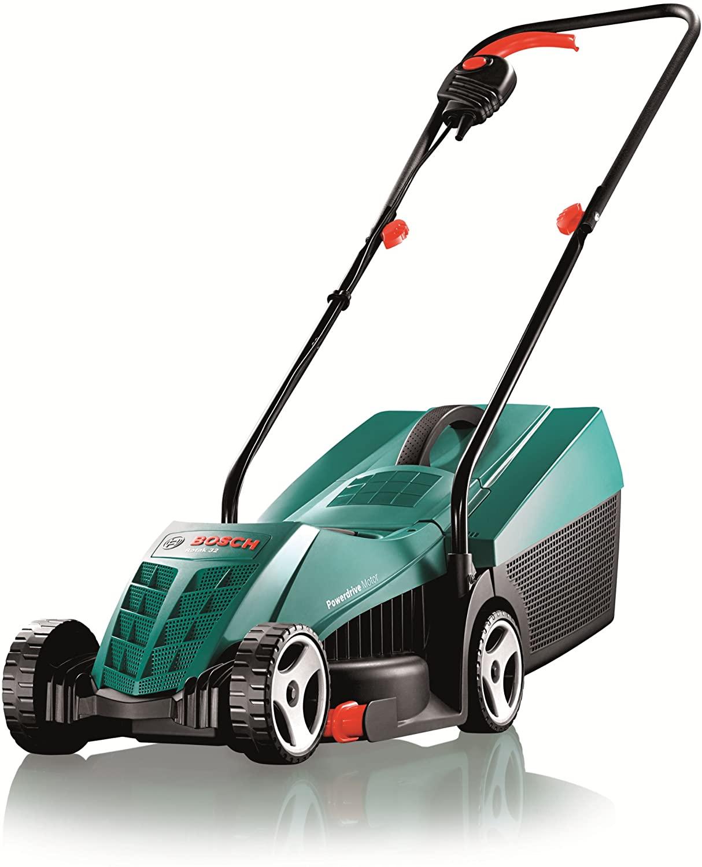 Bosch Rotak 32R lawn mower.