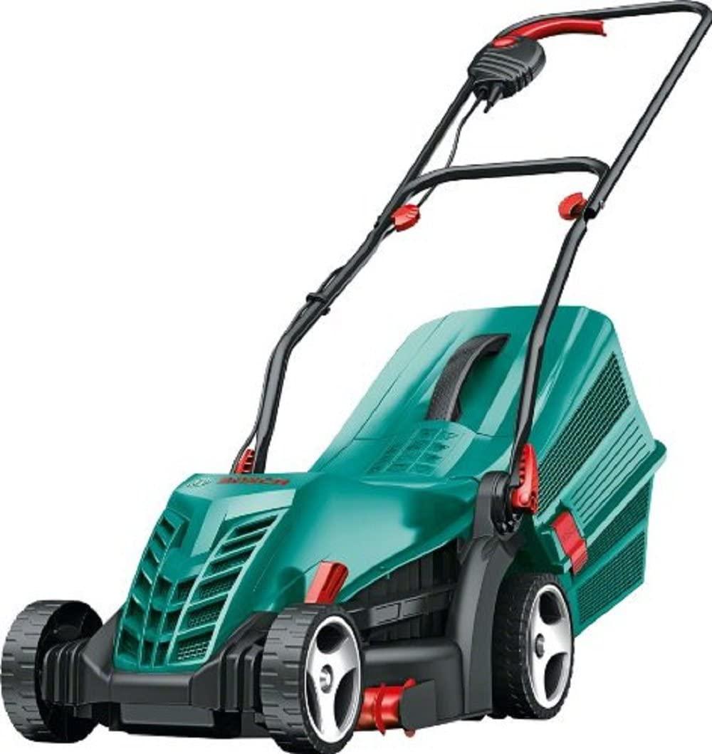 Bosch Rotak 34R lawn mower.