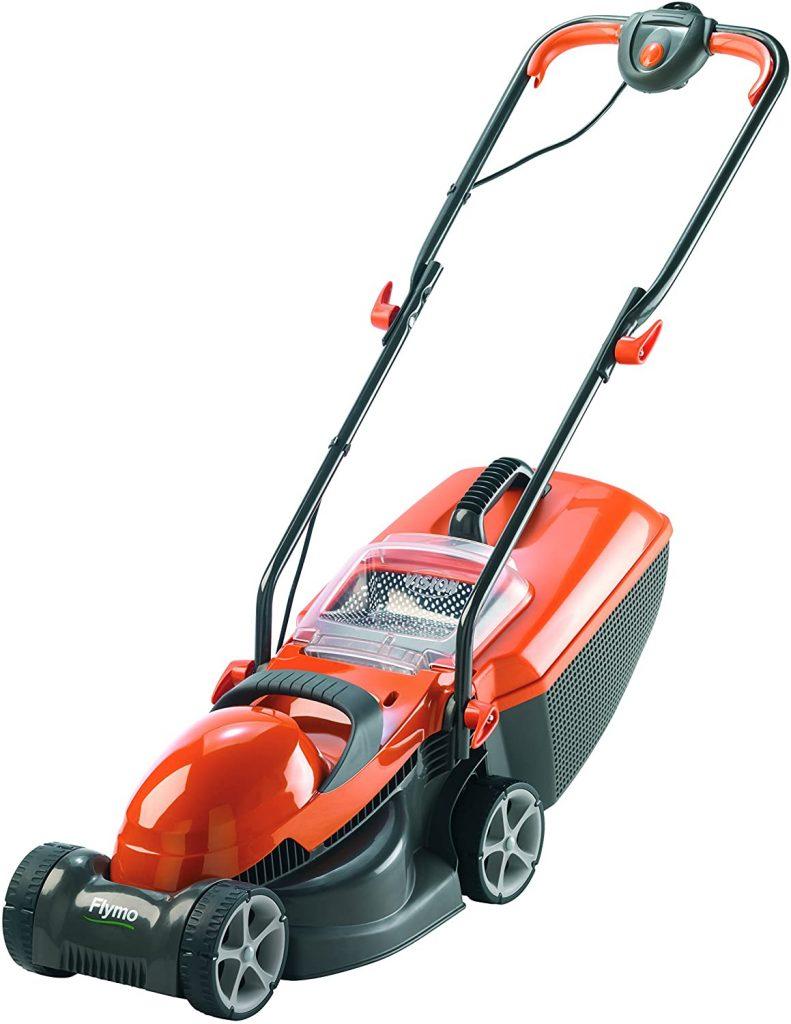 Flymo Chevron 32V lawn mower.