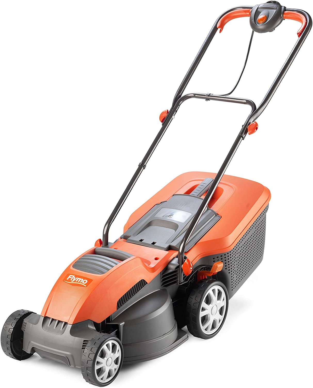 Flymo Speedi-Mo 360C lawn mower.
