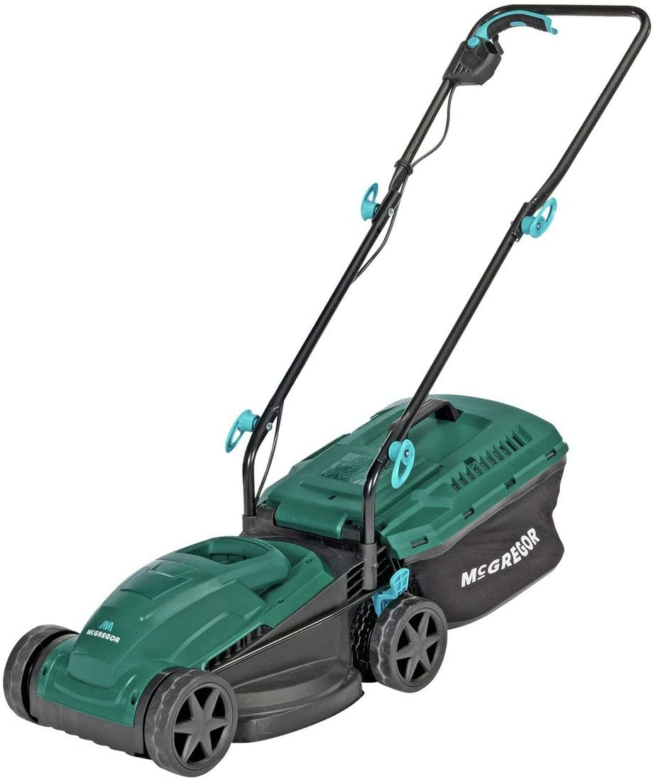 McGregor 32cm corded lawn mower.
