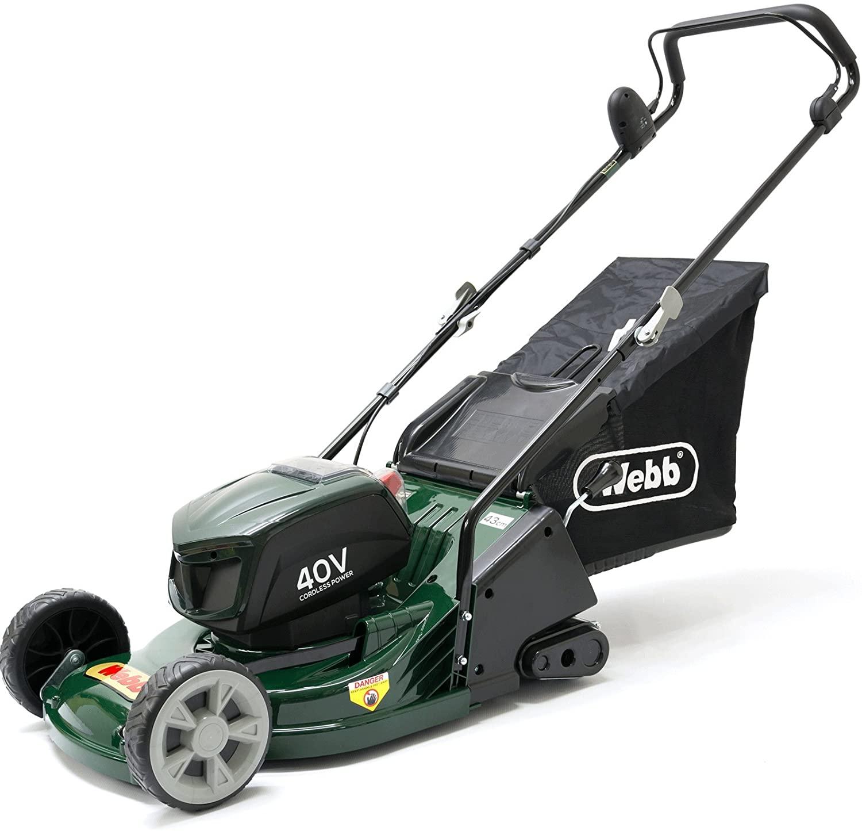 Webb WERR17LIP lawn mower.